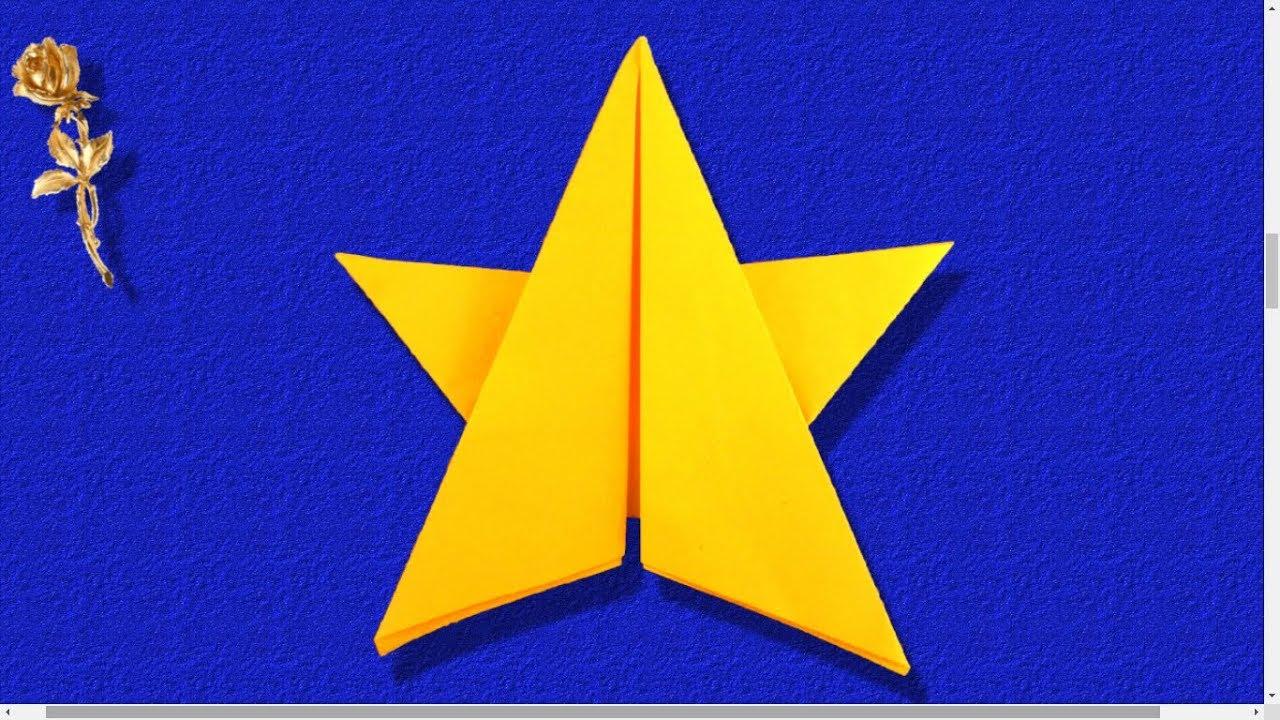 Origami étoile