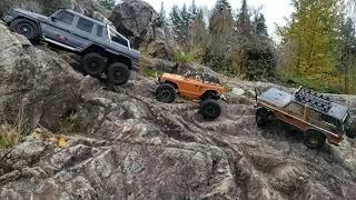 Trx6 6x6 Mercedes Group Rock Climbing