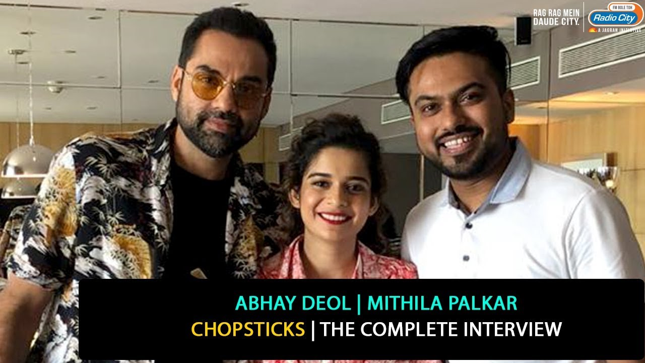 Abhay Deol and Mithila Palkar | Chopsticks | The Complete Interview
