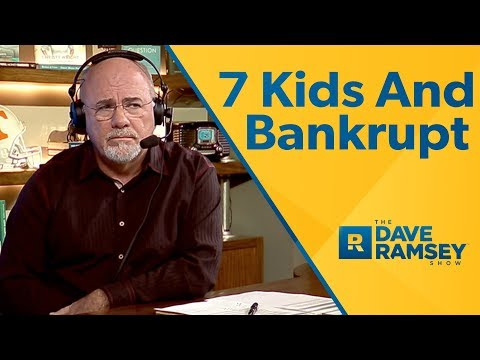 I Have 7 Kids And I'm Facing Bankruptcy