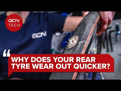Should You Switch Your Bike's Front And Rear Tyre Around? | GCN Tech Clinic #AskGCNTech