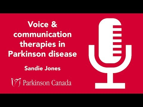 Voice & communication therapies in Parkinson disease