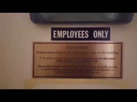 Inside A Funeral Home Embalming Room