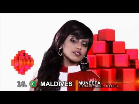 Eurovision Asia Song Contest 2017/2018 - My ideal Contest : 47 Countries (Only Asia )