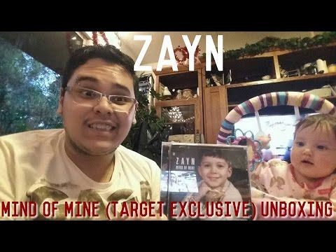 ZAYN - Mind Of Mine (Deluxe Target Exclusive) Unboxing Ft. My Niece