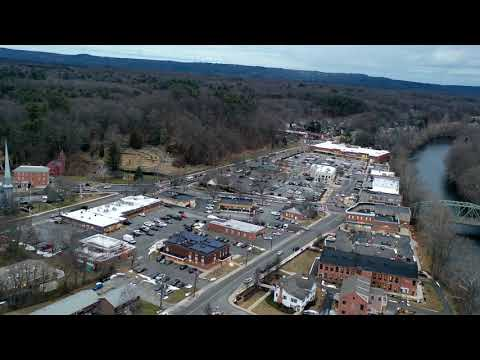Unionville, CT Hyperlapse 1 27 2020 Slow Motion