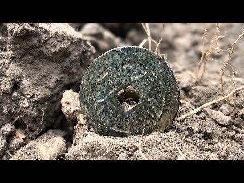 Metal Detecting Gold Fields Oldest Coins Found In Australia Day 2