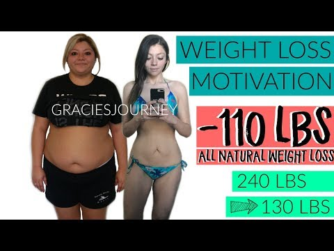 WEIGHT LOSS MOTIVATION | Finish What You've Started | -110 LBS | GRACIE'S WEIGHT LOSS JOURNEY