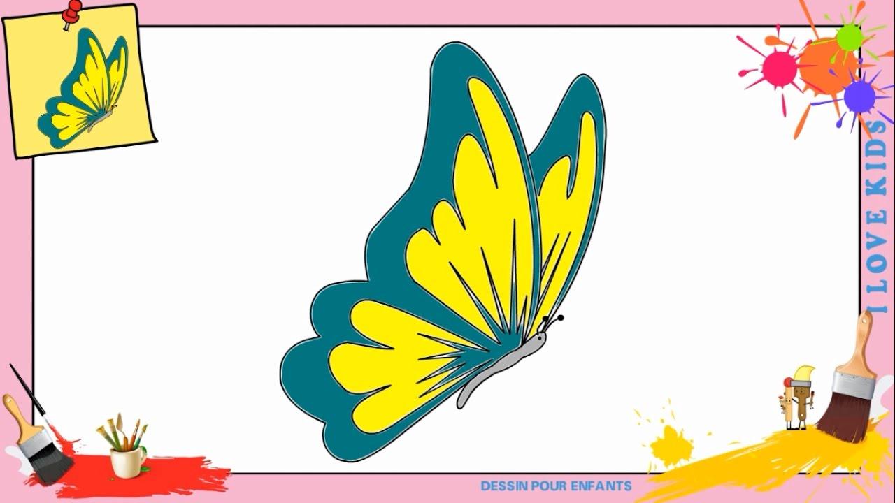 Dessin papillon 2 comment dessiner un papillon - Dessin petit papillon ...