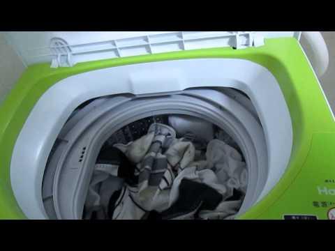 ハイアールの全自動洗濯機JW-K33F-Wで実際に洗濯をしてみた