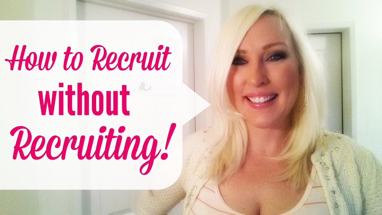 How to Recruit without Recruiting, in your Network Marketing Business using Attraction Marketing!