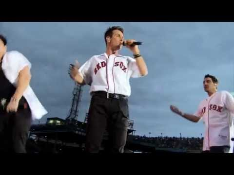 NKOTB (ONLY) FENWAY PARK 2011 FULL