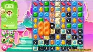 Candy Crush Jelly Saga - Level 294 (No boosters)