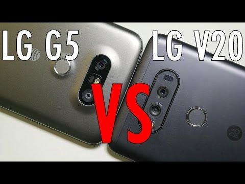 "LG V20 vs LG G5 Quick Comparison: The V20 doesnt need any ""Friends""..."