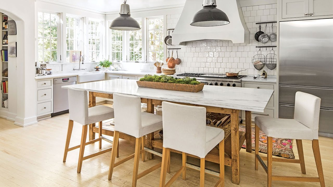 White Kitchen Ideas We Love | Southern Living - YouTube