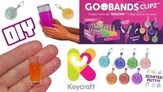 DIY Miniature Dollhouse Barbie Doll Drinks Plus Goobands CLIPZ Mini Slime & Keyrings from Keycraft