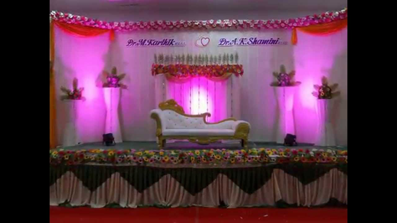 Madurai Decorators Wedding Stage Decoration Heritage