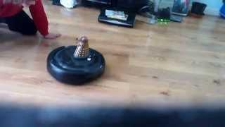 Dalek spaceship invasion