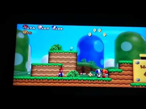 Super Mario Bros Wii - Blue Toads new friend