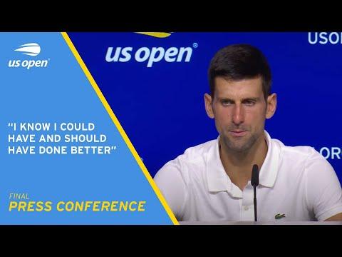 Novak Djokovic Press Conference | 2021 US Open Final