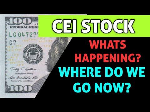 Download CEI STOCK ANALYSIS! - WHAT HAPPENED TODAY & WHAT COMES NEXT FOR THIS STOCK!? - TIME TO BUY OR AVOID?
