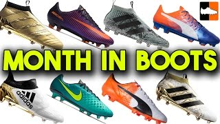Latest Soccer Cleat Releases & Month In Football Boots
