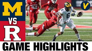 Michigan vs Rutgers Highlights | Week 12 2020 College Football Highlights