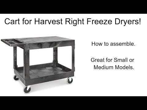 Cart For Harvest Right Small Or Medium Freeze Dryers.