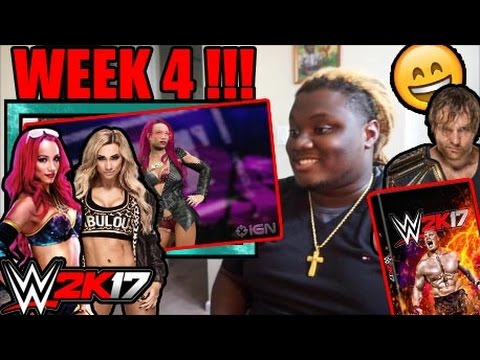 Superstars and Women Revealed for WWE 2K17 - IGN Roster Reveal Week 4 REACTION!!!