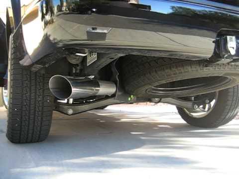 2008 Ford Explorer V8 Gibson Swept Side Exhaust Youtube