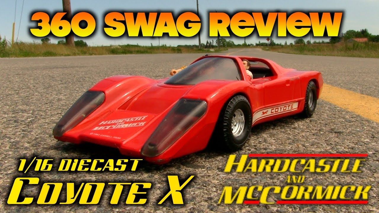 Download 360 Swag Review: Ertl 1/16 1983 Hardcastle and McCormick Coyote X with custom figures