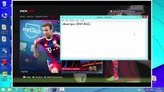 Cheat PES 2015 Become A Legend with Cheat Engine