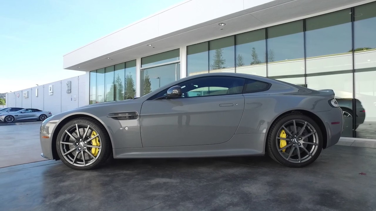 Aston Martin V Vantage S Los Gatos Luxury Cars YouTube - Los gatos aston martin