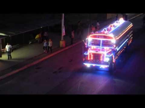 The Red Devils Buses Louder Panama Los diablos rojos