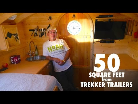 Park Ranger's Tiny House is only 50 Square Feet!