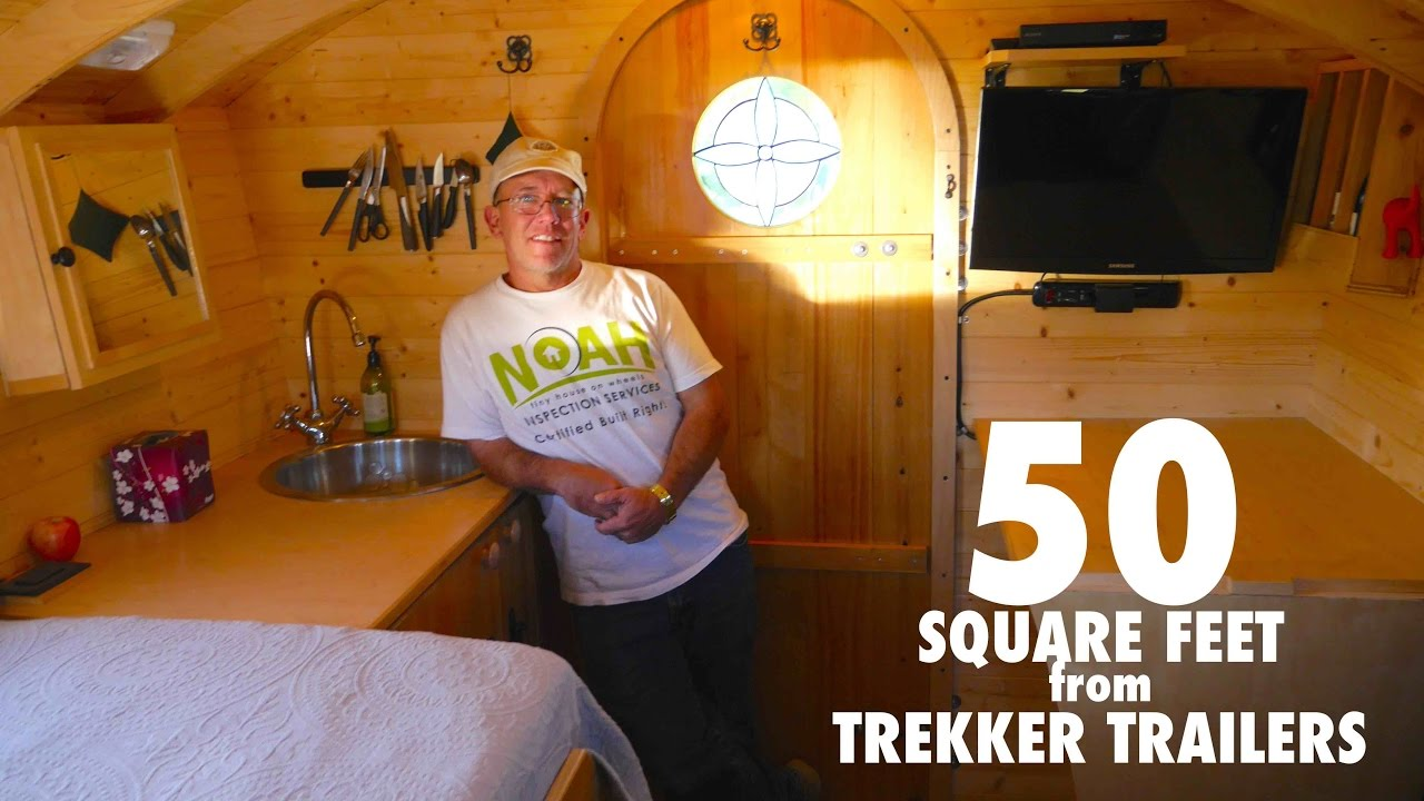 Square Foot House park ranger's tiny house is only 50 square feet! - youtube