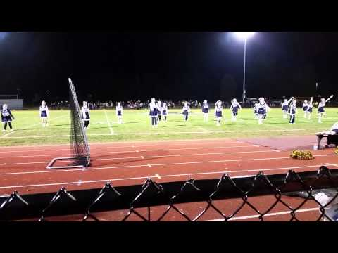 Frewsburg midget varsity cheerleaders