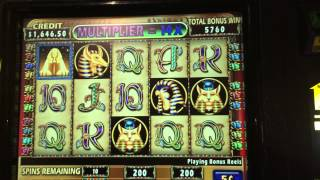 Cleopatra II better than hand pay high limit slot huge win