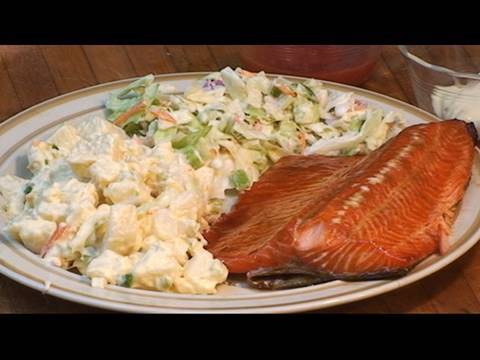 Steelhead Trout Grilled Fish Recipe By The BBQ Pit Boys