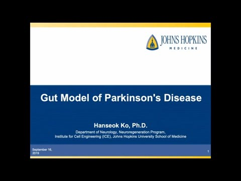Gut Models of Parkinson's Disease   2019 Udall Center Research Symposium
