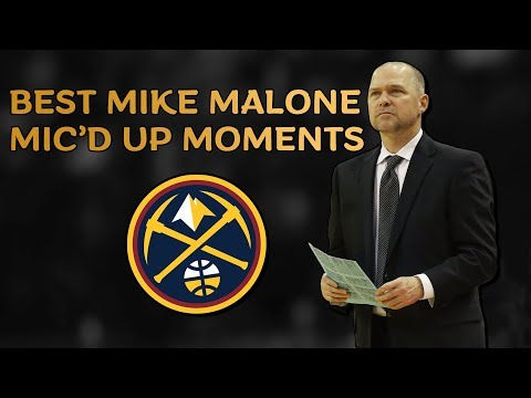 Mike Malone BEST Mic'd Up Moments as a Denver Nugget