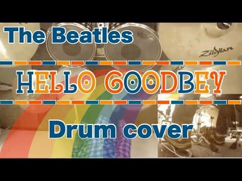 Hello Goodbye(カラオケ)ドラム デモ The Beatles