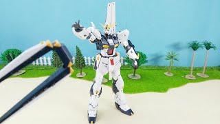 チャンネル登録宜しくお願いします !! RG 1/144 νガンダム Rg Nu Gundam Stop motion Build RG뉴건담 언박싱 ガンダム ストップモーション Rg Rx 93 Gundam Build...