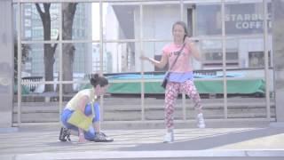 GU Wear Love flashmob Tokyo Shinjuku