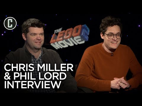 LEGO Movie 2: Phil Lord and Chris Miller Interview