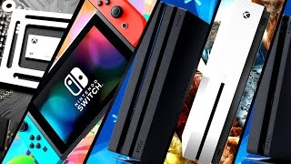PS4 Pro Redesign Coming? | Nintendo Switch to Ship 20M 2017? | Ryse 2 Xbox Scorpio? | COD WWII