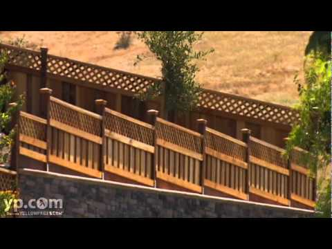 Rodeo Wooden Fencing Creative Fence Wall Inc Youtube