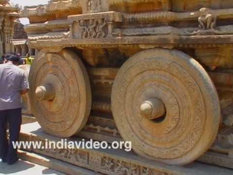 The Stone Chariot of Vittala at Hampi
