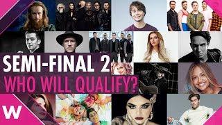 Eurovision 2018: Semi-Final 2 Qualifiers? (PREDICTION)