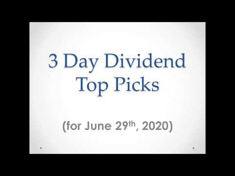 daily-dividend-stock-picks-for-june-29th,-2020